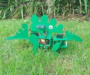 STEGObot:剑龙机器人