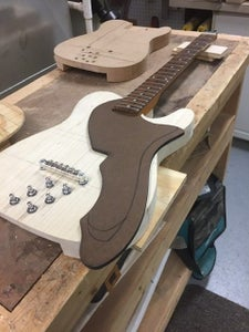 Completing the Guitar Body: