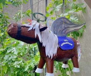 """Li'l Sebastian in Horsey Heaven"" Sound Enabled Marionette"