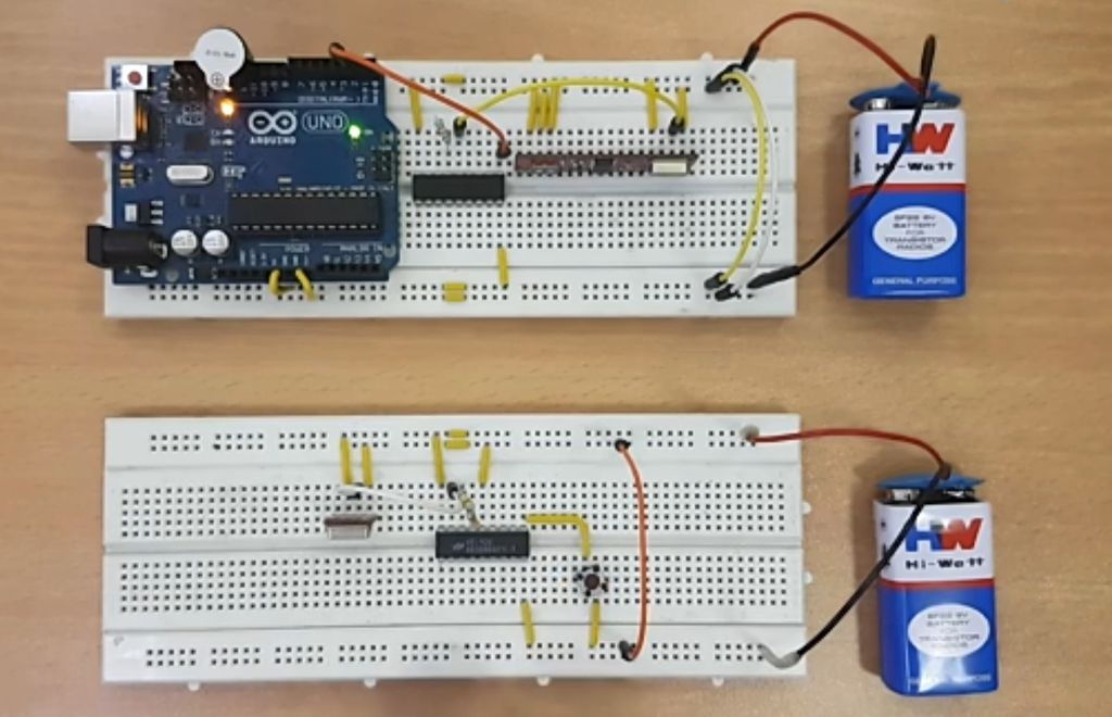Picture of Wireless Doorbell Using Arduino and RF Module