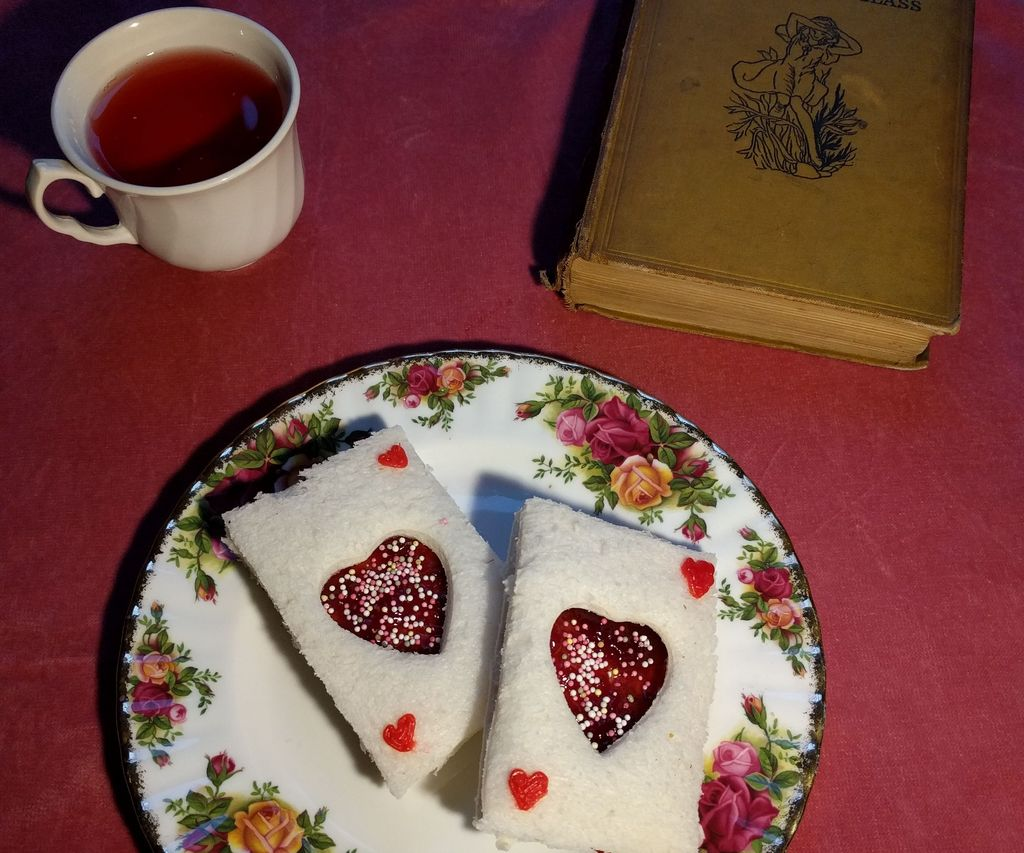 Queen of Hearts Sandwiches