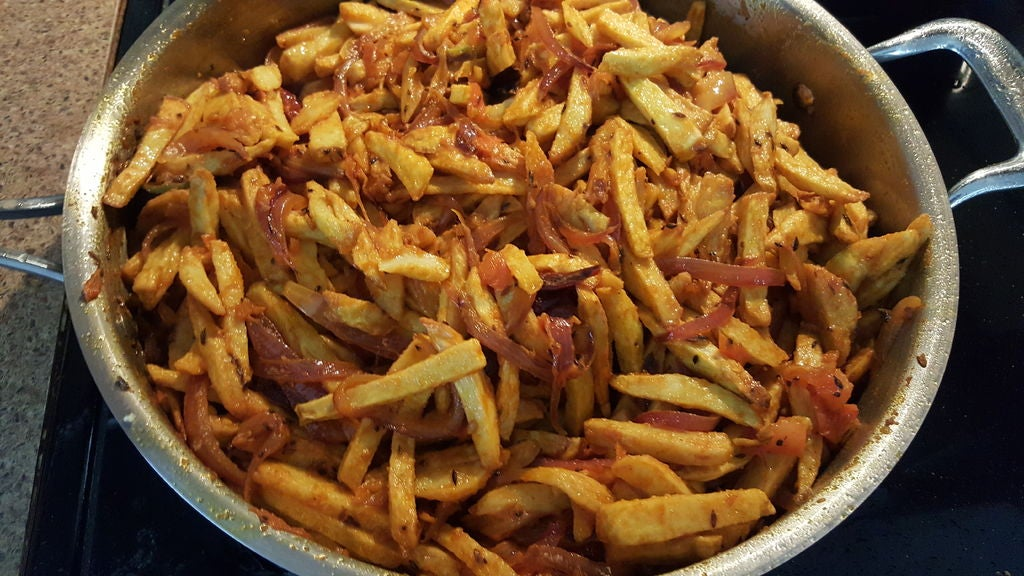 Picture of FOR DRY EDDO IN FRIES STYLE ;