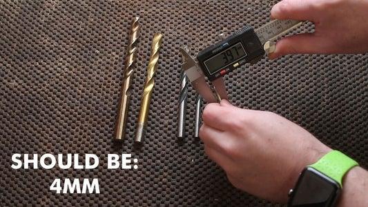 Drill Bits Are Very Accurate