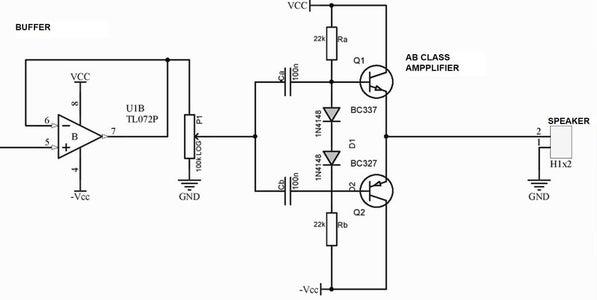 The Speaker Amplifier