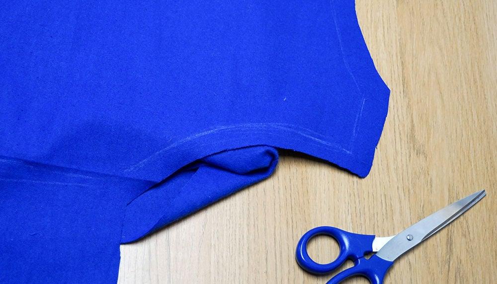 Picture of Cutting Out the Back Piece