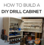 How to Make a Drill Charging Cabinet   DIY Woodworking