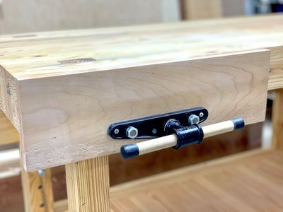 How to Install a Woodworking Vise