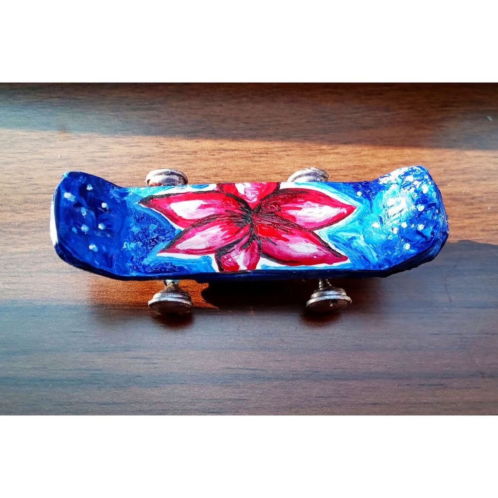 Picture of DIY Miniature Skateboard Made With Recycled Materials