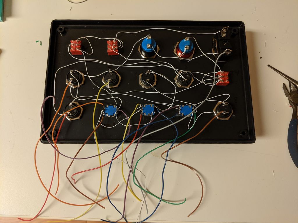 Picture of Step 5: Wire the Matrix