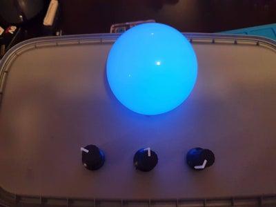 RGB Light Blender