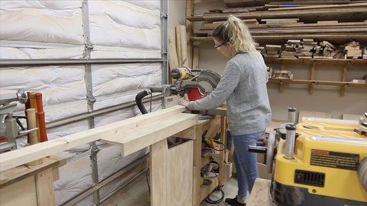 MILLING UP THE 2X4 STRUCTURE