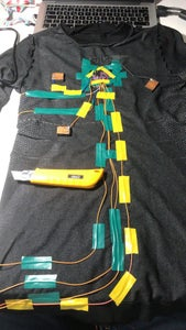 Sew the T-shirt