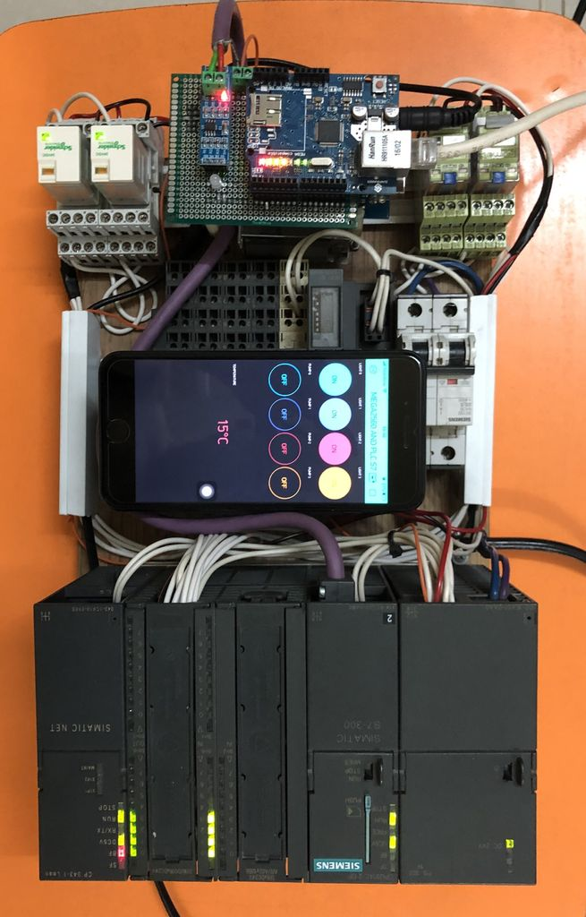 Picture of Profibus-DP Communication Between Arduino and PLC