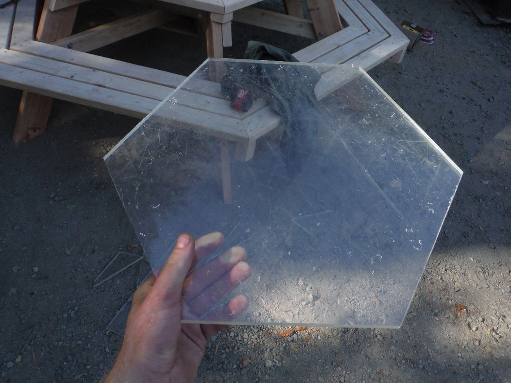 Picture of Mark and Cut Plexiglass (optional)