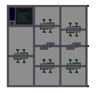 Deep Space Hydroponics Module