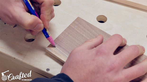 Layout Dovetails and Cut Tails