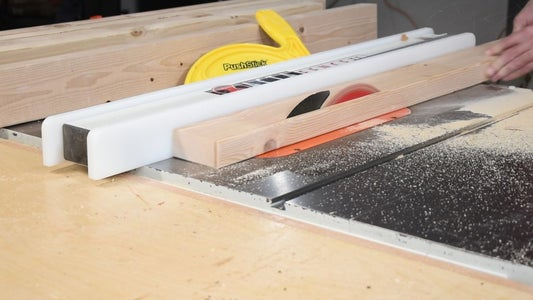 Cut the Boards for the Sled Base