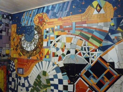 The Mosaic on the Wall Is Almost Finished