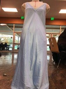 Upcycled Polka Dot Mini Dress