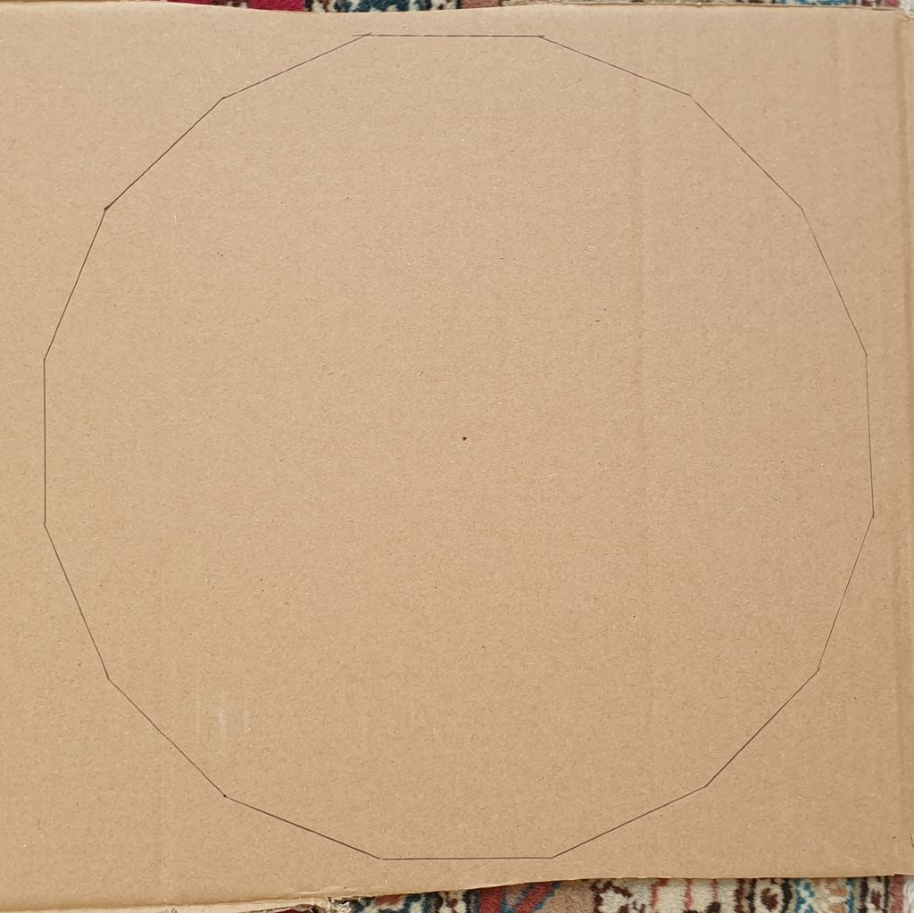 Picture of Cutting the Cardboard