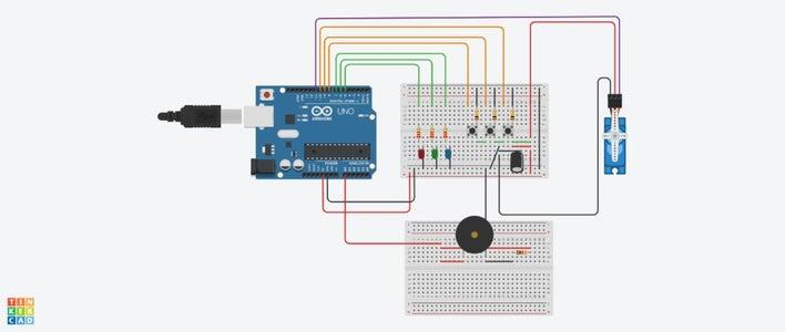 Code + Circuit (user Tuixte's Knock Box W/ Modifications)