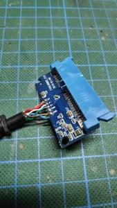 Preparing the SATA to USB Adapters
