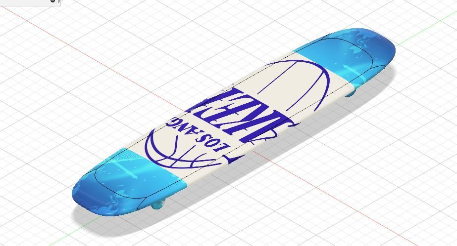 Picture of Lakers Skateboard