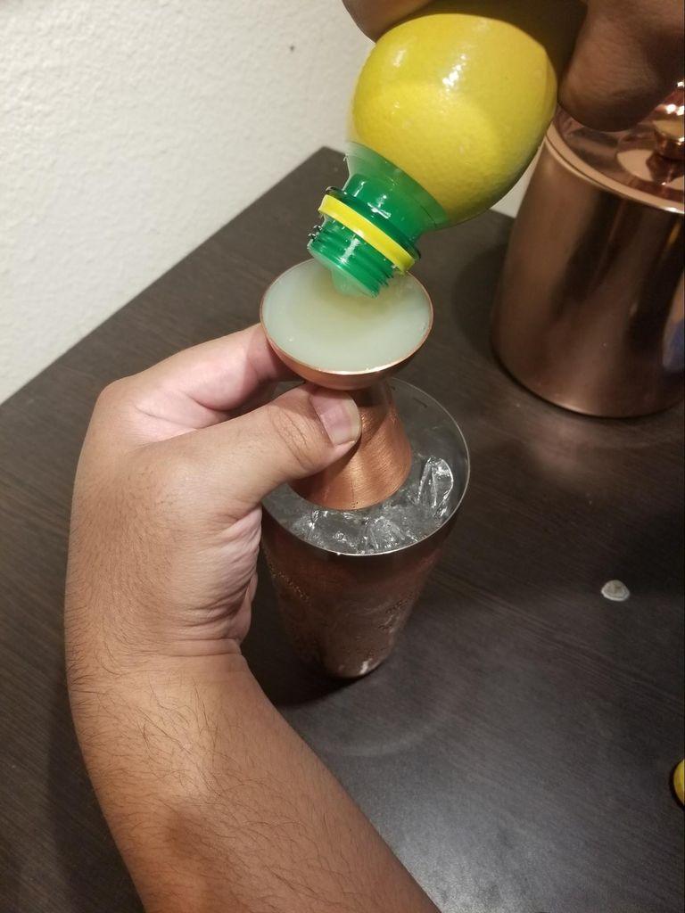 Picture of Measure Out Lemon Juice.