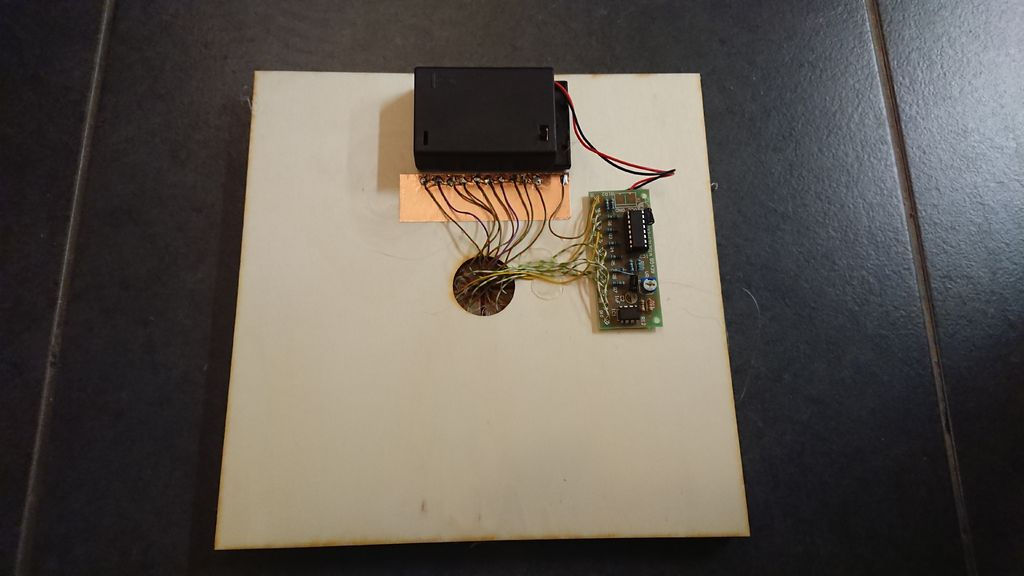 Picture of Mounting the Fake Plasma Part