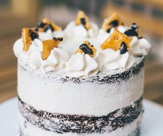 用你所拥有的做最好的素食检疫蛋糕!