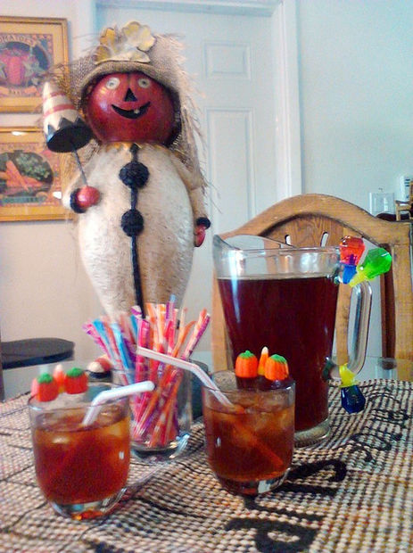 Halloween Pixie-Sweet Tea