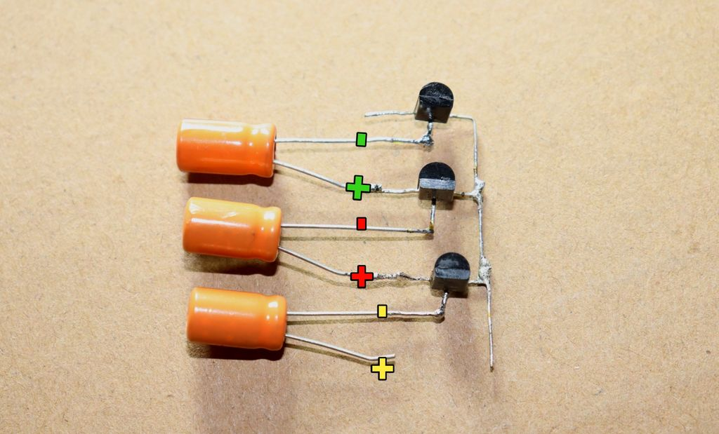 Picture of Connect 100uf Capacitors