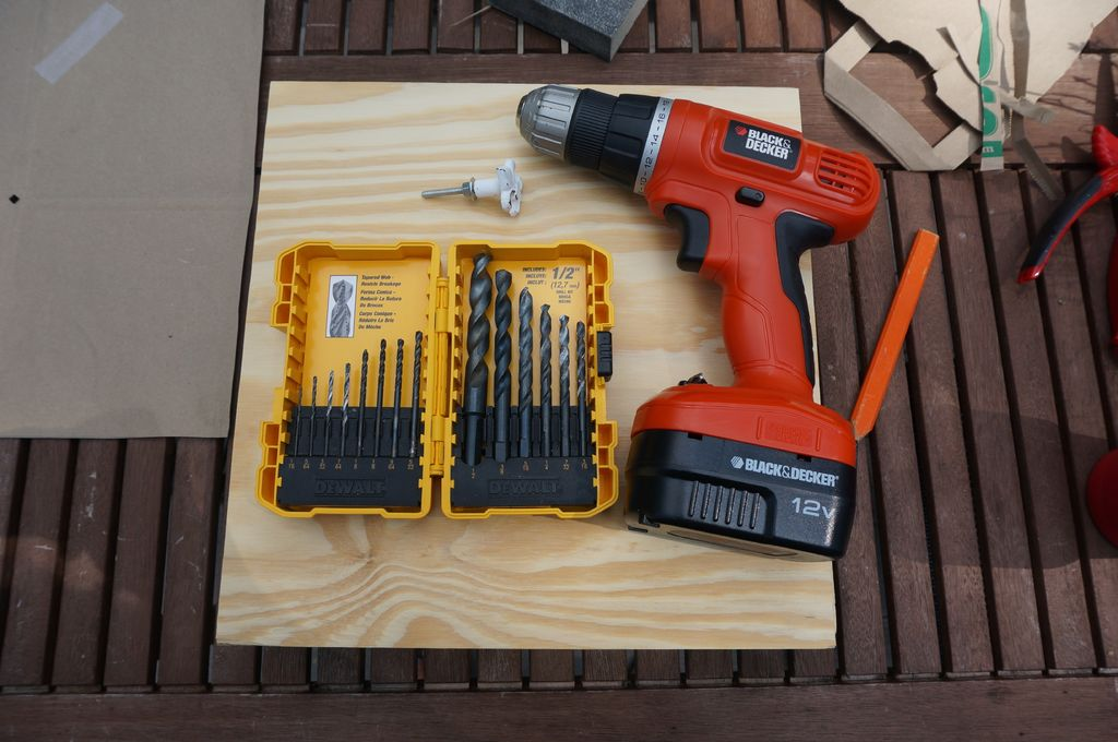 Picture of Drill Hole for Drawer Pulls