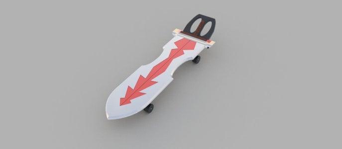 Flying Sword Skateboard
