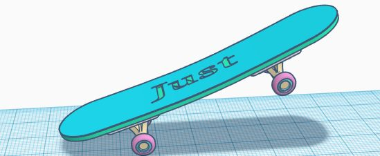 Picture of Skateboard:Just