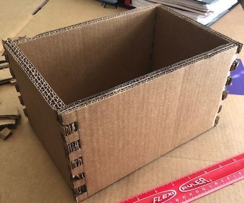 Box Jointed Cardboard Box