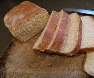 酵母三明治面包