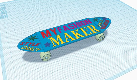 Picture of Step 8: Finish the Skateboard