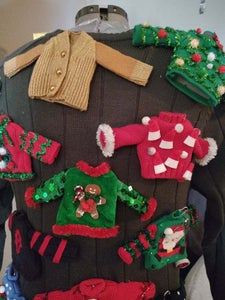 Lots of Finished Sweaters = 1 Finished Sweater