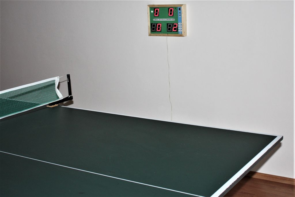 Picture of Bloetooth Table Tennis Scoreboard