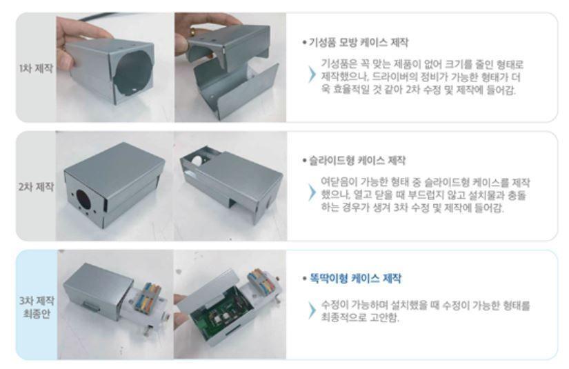 Picture of 전구 컨트롤러 케이스 제작 과정