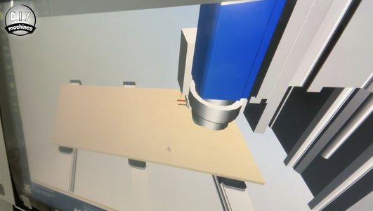 Mounting the Core Supports: Option 2 - Using CNC Machine