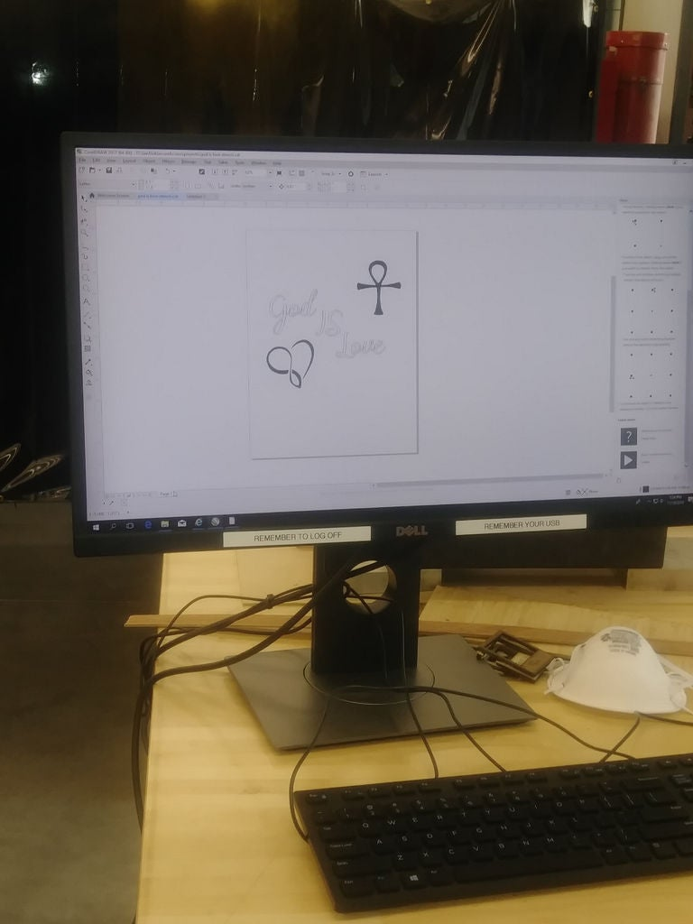 Picture of Step:1 Create Dxf.file