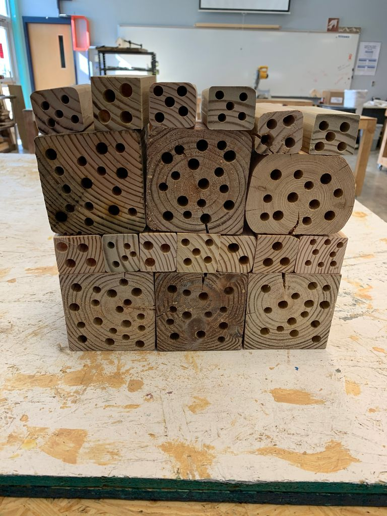 Picture of Drill Holes