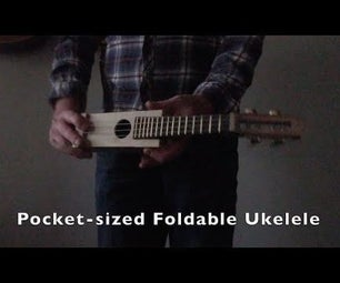 Pocket Sized Foldable Ukulele