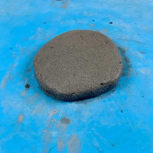 FORM THE CEMENT TO PREPARE FOR CUTTING