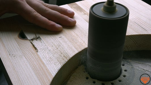 Cutting the Oval and Laminating
