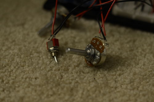 Picture of Setting the Time With Potentiometers