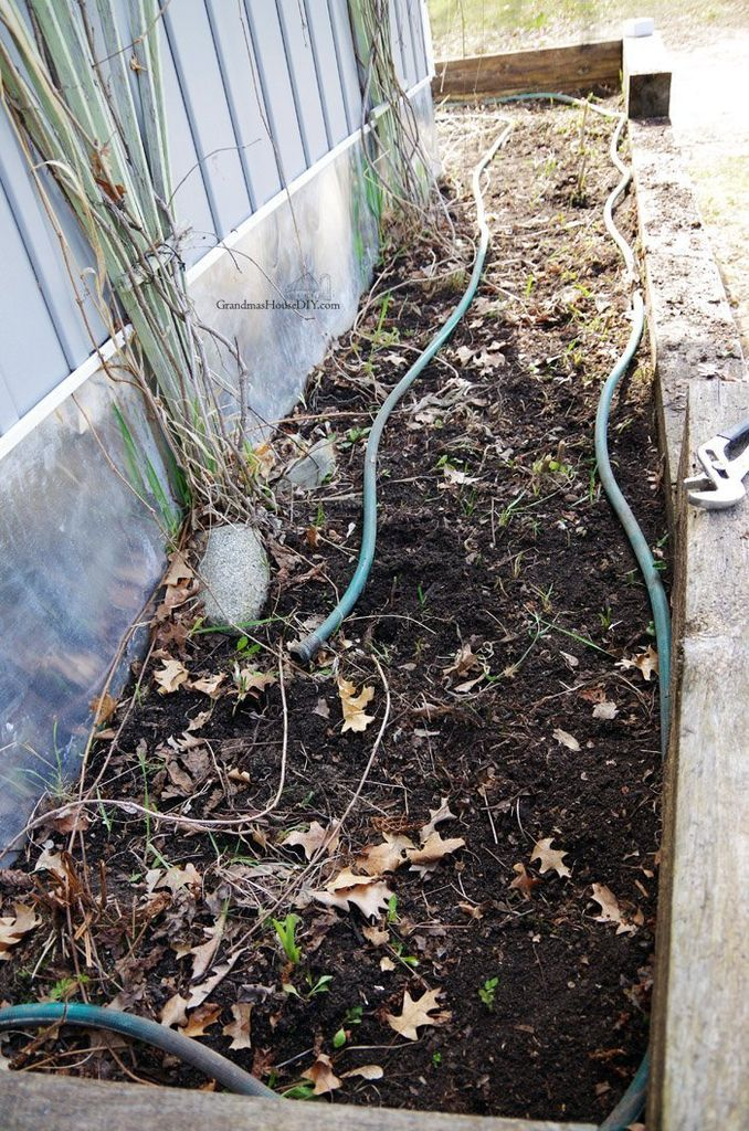 Picture of Securing Hoses and Adding Holes