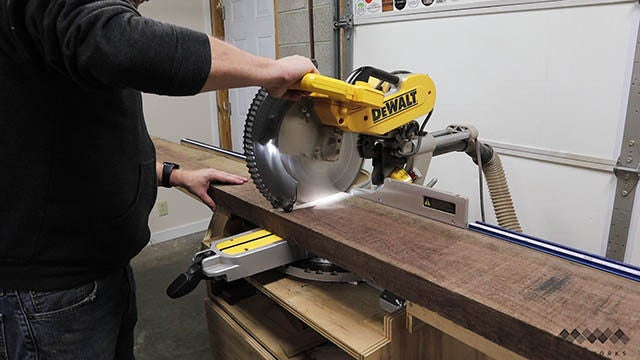 Picture of Preparing the Cutting Board Parts
